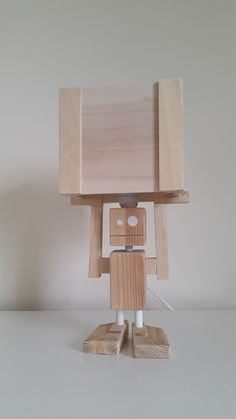 Isiah never gets tired! - Table Lamp from Crafty&Co.