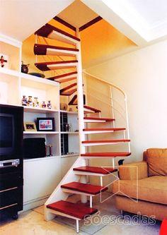 imagem de Escadas Semi-caracol - Só Escadas