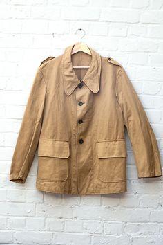 1938 french military work chore jacket