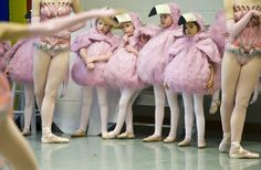 Washington Ballet's 'Alice (in Wonderland)' - The Washington Post. The little flamingos were so cute!