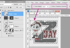 Activate a layer just by clicking on it with the Move Tool.