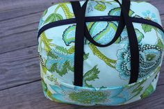 Weekender Overnight Travel Bag Tutorial (with pattern!):