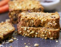 Paleo Morning Glory Bread - Wholesomelicious