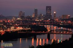 LTV Steel stacks used to dominate this view - PittsburghSkyline.com