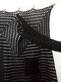 omⒶ KOPPA: WOOL-villatakki Crochet Jacket, Crochet Cardigan, Crochet Shawl, Crochet Granny, Crochet Clothes, Crochet Patterns, Wool, Knitting, Jackets