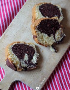 Sonntagskuchen Marmorkuchen nach Uromas Rezept - Backideen