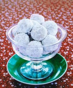 The hunt for the perfect hostess gift is over! Whip up a batch of these simple, sugar-coated treats and place a few in a glass bowl. (Shop for one at your local thrift store and give it a good washing.) Your holiday host will love the pretty — and delicious — centerpiece. Get the recipe for Walnut Balls  - GoodHousekeeping.com