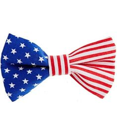 Patriotic bow tie! Cute for boys!