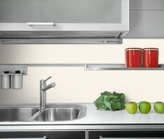 Find Detail Modern Kitchen Steel Sink stock images in HD and millions of other royalty-free stock photos, illustrations and vectors in the Shutterstock collection. Small Tiles, Sink, Kitchen Cabinets, House Design, Porcelain, Home Decor, Sink Tops, Vessel Sink, Porcelain Ceramics
