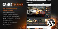 GamesTheme Premium WordPress Theme