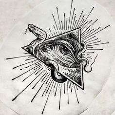 Providence Tattoo, Illuminati Tattoo, Gore Aesthetic, All Seeing Eye, Nature Tattoos, Tattoo Ideas, Sketches, Ink, Eyes