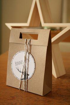 DIY : les petites boites et leurs étiquettes
