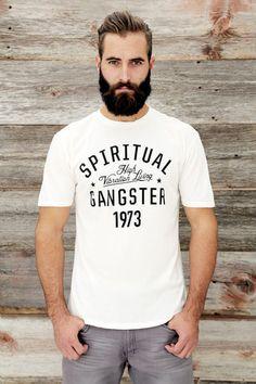 YEAR TEE WHITE | Spiritual Gangster $42