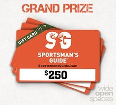 Enter the $500 @Sportsmansguide Giveaway! @wideopenspaces  http://virl.io/vvsmqfCz Ends 7/3