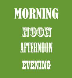 Egal ob morgens, mittags, abends, jeder sollte einmal am Tag ein Workout oder eine halbe Stunde zur geistigen Entspannung in seinen Tagesablauf mit einplanen.