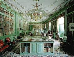 Duchess of Alba Library in Madrid [Via W Magazine, Photographed by Simon Watson]