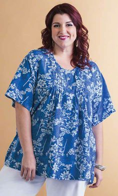 Connor Pleat Blouse/ MiB Plus Size Fashion for Women
