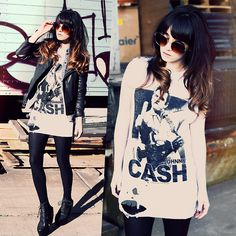 Zero Uv Sunglasses, Viparo Leather Jacket, Christian Benner Custom Johnny Cash Shirt, Jeffrey Campbell Lana Heels, Http://Www.Jaglever.Com
