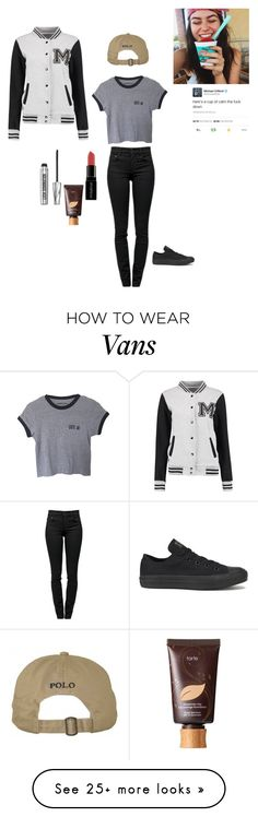"""""""#514"""" by because-why-not on Polyvore featuring Proenza Schouler, tarte, Smashbox, Bare Escentuals and Converse"""