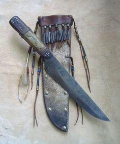 Knife Sheath, Knife Handles, Leather Crafts, Deer Skin, Native American History, Knife Making, Shape Design, Toys For Boys, Leather Working