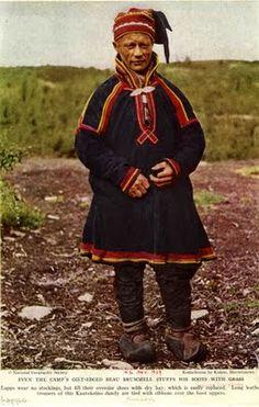 Lapp / Sami folk ---