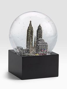 When I one day leave New York, I intend to keep a New York City snowglobe in my window for those moments I truly miss the city.