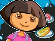 Free Online Girl Games, Dora is on a new adventure, but even great explorers have to eat! Help Dora pick out the right healthy snack so she can continue on her amazing journey in Serve the Dora!, #dora #cartoon