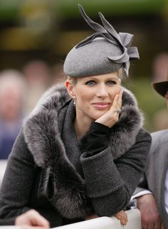 The first lady of Eventing, Zara Phillips can often make questionable fashion choices, but here she just hits it with a glam, understated and elegant look.