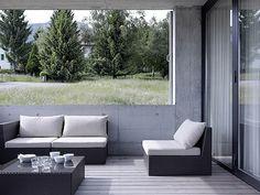 Cube house in Switzerland
