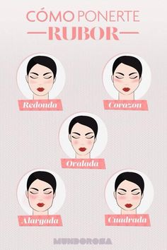 Rubor (Best Blush For Contour) Body Makeup, Skin Makeup, Makeup Art, Makeup Tips, Makeup Products, Contouring Makeup, Beauty Secrets, Beauty Hacks, Smoky Eyes