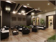 LifeLine Hospital Patient Lounge, Abu Dhabi. #officedecor interior #architecture