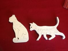 Cats scroll saw puzzles