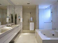 Decor Salteado - Blog de Decoração e Arquitetura : Banheiros brancos maravilhosos - veja modelos e dicas!