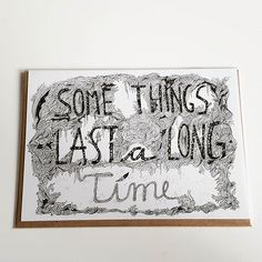 'Some things last a long time'...saw this card and thought um like love or perhaps like our reusable badges, ha!  Shameless link!  #durable #badgesforlife #namebadges #innovation #lessplastic #zerowaste #sustainability #saynotoplastic #ecofriendly #eventprofs #events #eventplanners #London #FridayFeeling #design #illustration @sandradieckmann