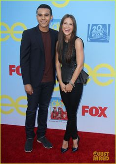 Jenna Ushkowitz & Chord Overstreet: 'Glee' Premiere! Jacob Artist and Melissa Benoist