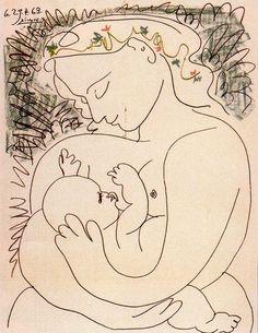 Maternity – Pablo Picasso (1901)