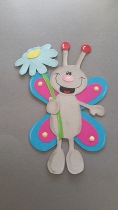 Easter Crafts, Felt Crafts, Diy And Crafts, Arts And Crafts, Paper Picture Frames, School Frame, Felt Books, Paper Magic, Easter Bunny Decorations