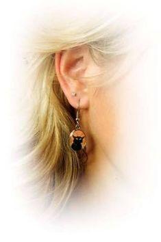 bijoux cat earrings