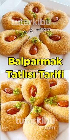 Balparmak Dessert Recipe - Mery J Kendy Appetizer Recipes, Dessert Recipes, Appetizers, Desserts, Pizza, Iftar, Turkish Recipes, Coffee Break, Hot Dog Buns