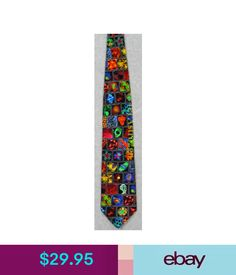 Ties Microbiology Cells Germs Diseases Dna Science Museum Artifacts Silk Necktie! #ebay #Fashion