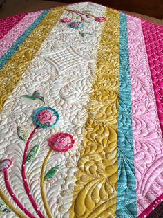 Karen's Quilts, Crows and Cardinals: The Subtle Sampler - Dreams Really Do Come True