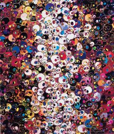 i do not rule my dreams, my dreams rule me 2011  Takashi Murakami