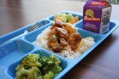Sweet-and-sour chicken from Meridian World School.