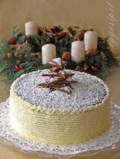 egycsipet: Adventi mézes torta Bread Recipes, Cake Recipes, Hungarian Recipes, Christmas Sweets, Xmas, Sweet Bread, Sweet Recipes, Oreo, Food And Drink