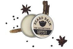 The Adventurer Beard Balm - Whiskey, Ink, & Lace | Scott's Marketplace