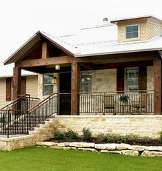 Texas Hill Country Home Designer | Architect JC Chi designed the the home's exterior in a Texas country ...