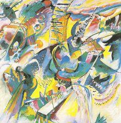 Improvisation Klamm - 1914 - Kandinsky Vassili - Opere d'Arte su Tela - Listino prodotti - Digitalpix - Canvas - Art - Artist - Painting