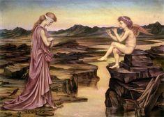 Love the Misleader by Evelyn De Morgan August 1855 – 2 May was an English Pre- Raphaelite painter. Art Prints, Pre Raphaelite Brotherhood, Painter, Pre Raphaelite, Painting, Photography Illustration, Art, Mythology, Pre Raphaelite Art