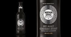 Mena Dhu beer packaging by WPA Pinfold » Retail Design Blog