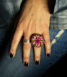 * Häkelring  crochet ring * von crochet.jewels auf DaWanda.com